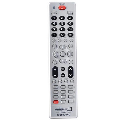 Universal LCD LED HD TV Remote Control Replacement - Compatible With Many Brands