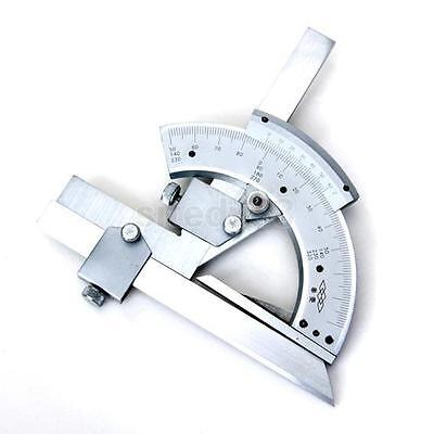 0-320° Universal Stainless Steel Bevel Protractor Scales Angular Dial + Case