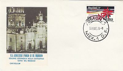 (43230) Mexico Cover Pope John Paul Visit 1979