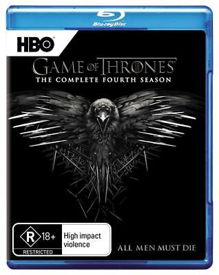 Game Of Thrones: Season 4 - Blu Ray Region B Free Shipping!