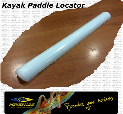 Kayak Paddle Locator Strip- Indicator or index or oval Plastic Hand Hold Grip