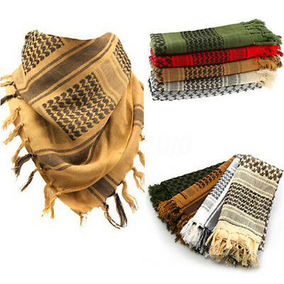 NEW Lightweight Military Arab Tactical Desert Army Shemagh KeffIyeh Scarf  Wrap