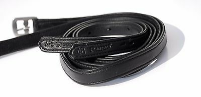 Rhinegold Soft Bonded Stirrup Leathers | Non stretch with Nylon Core | ALL SIZES