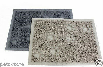 Cat litter Tray Mat or Pet Dog outdoor mat two sizes colour beige or Grey SALE
