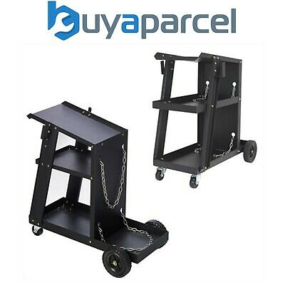 SIP Sealey Plasma MIG ARC TIG Inverter Gas Universal Welding Trolley Cart E19