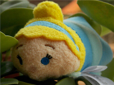 New Disney Tsum Tsum CINDERELLA Mini Stackable Plush Toy