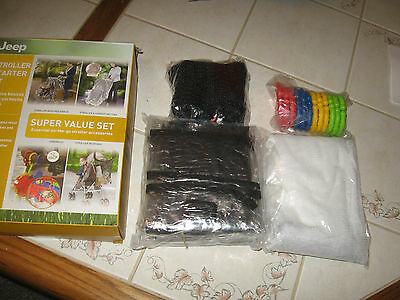 Jeep Stroller Starter Kit 4 On-The-Go Essential Items New In Box