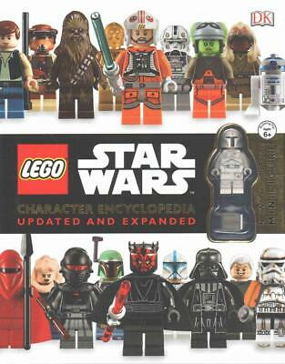 Lego Star Wars Character Encyclopedia Updated and Expanded by Dk Hardcover Book