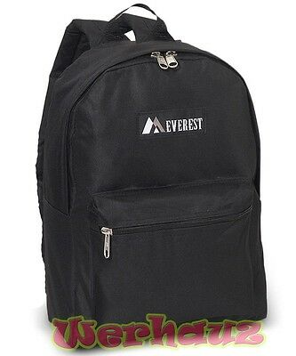 Everest Classic Basic Student Backpack, NEW for Kids or Adult