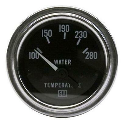 stewart warner deluxe 2 1 16 mechanical water temp gauge 60 inch stewart warner 82307 2 1 16 inch deluxe electric water temp gauge
