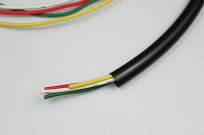 PVC Tubing Wire Conduit 9/32 inch 6.6mm Black 16ft wiring loom cover