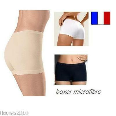 Lot De 3 Boxers Femme Sans Couture Invisible Culotte Shorty Calecon S M L Xl Xxl