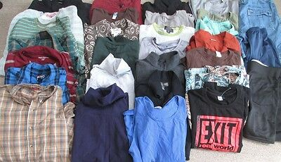 Huge lot of MENS size Large and 36 clothing