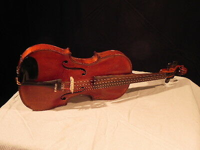 1920's ?? VIOLIN**COPY OF 1600's STRADIVARIUS**MADE IN GERMANY**CASE,BOW, EXTRAS