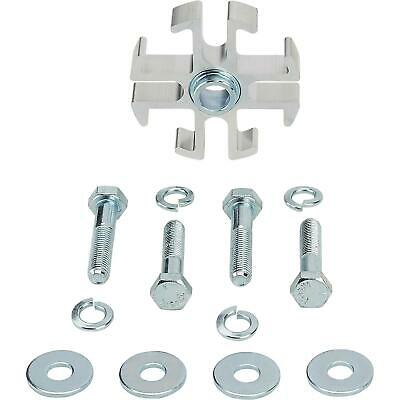 Speedway 91015720-050 Aluminum Fan Spacer w/ Hardware Kit, 1/2 Inch Thick