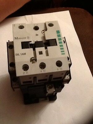 MOELLER CONTACTOR DIL 1A M 240V COIL 55A A AMP DIL1AM w/ 11S DIL M Used