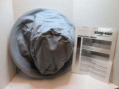 "Shop-Vac 905299 Full Cloth Filter Bag: Fits 16"" Diameter Tanks Polyester"