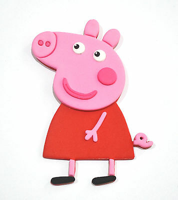Peppa Pig Large Cake Topper X 1 - 15Cm Tall Approximately - ***awesome***