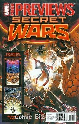 Secret Wars Marvel Previews #1 May 2015 1St Printing Bagged & Boarded