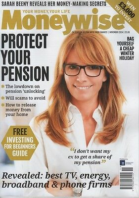 Moneywise Magazine November 2014, Pension, Investing, Scams, Best Utility Compan