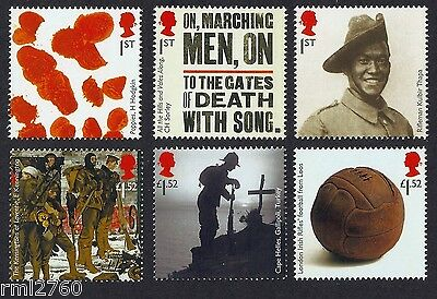 2015 THE GREAT WAR 1915 Mint Stamp Set of Six  SG 3711 - 3716