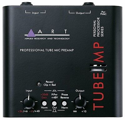 ART Tube MP Original - Valve Mic/Instr Pre-Amp with 48V Phantom Power ** NEW **