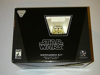 Gentle Giant Star Wars Commander Bly Mini Bust Convention Exclusive New MIMB