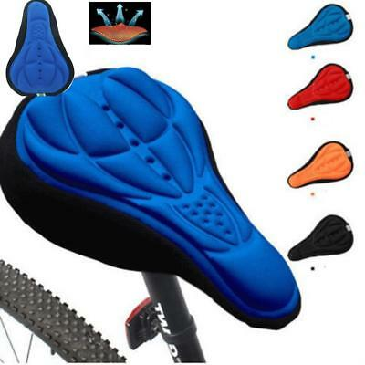 Bike Bicycle MTB Cycle Seat Saddle Soft Cushion Extra Comfort 3D Gel Pad Cover