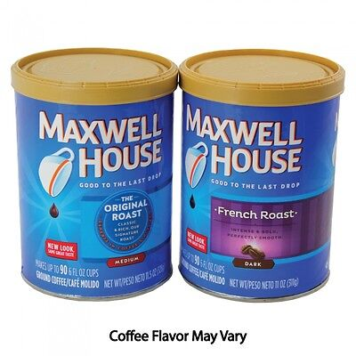 Maxwell House Coffee Hidden Diversion Safe - Protect Your Valuables