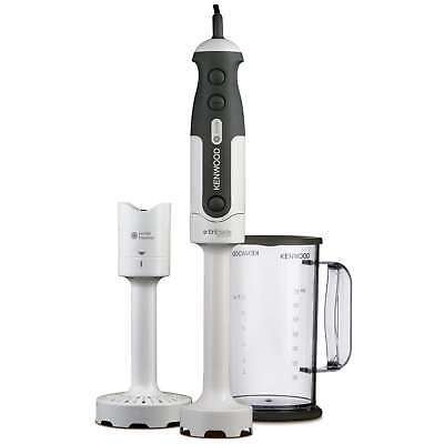 Kenwood HDP300 800 Watts Triblade Hand Blender with Masher in White New