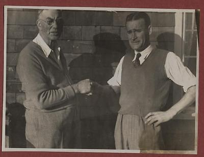 Sussex Courier Golfers 'John Rowe'  vintage  photograph  fd.32