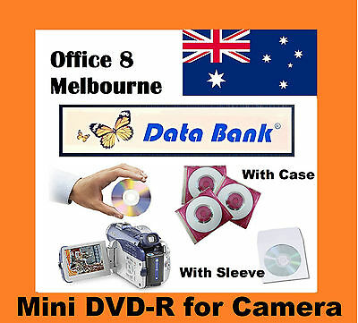 BRAND NEW Data Bank Mini Blank DVD -R for Sony Camcorder Handycam 1.4GB 30min