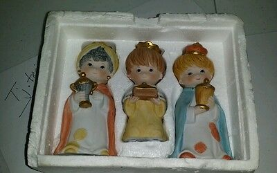 Home Interior ~ Homco Childrens Nativity #5609 Wisemen!!!