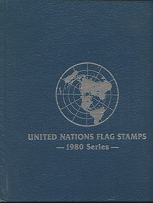 United Nations  Fdc Album 1980 Flag Series