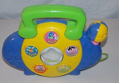 The Backyardigans Musical Toy Radio With Microphone Boombox Baby Toy