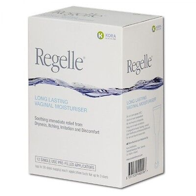 Regelle Long Lasting Vaginal Moisturiser 12 pack(dryness, itching, irritation)