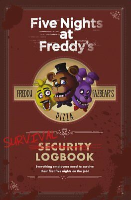 Survival Logbook (Five Nights at Freddy's) Hardcover by Scott Cawthon