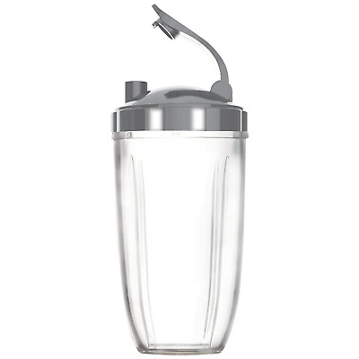 NUTRIBULLET COLOSSAL LARGE BIG CUP + FLIPTOP LID - Nutri Bullet 600 & 900 Models