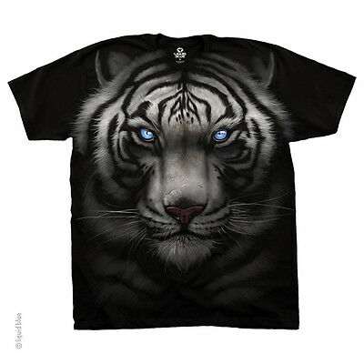 New MAJESTIC WHITE TIGER T Shirt