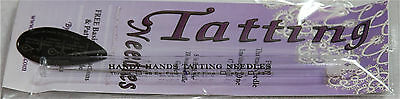 HANDY HANDS #7-0 Fine Tatting Needle w/ Threader & Pattern