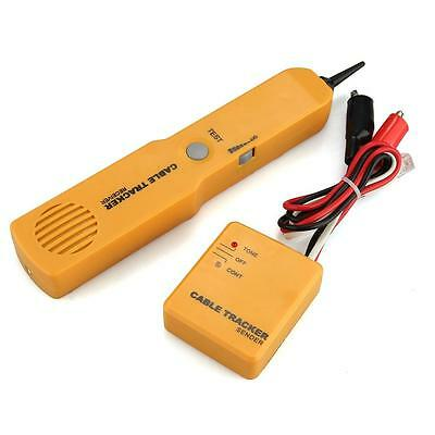 Telephone Phone Network BNC Cable Wire Line RJ Tracker Tracer Tester with Bag