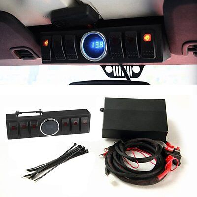 Switch For 2007-2014 Jeep Wrangler JK Panel 6 Contura Switch 6 Switch Wiring Kit