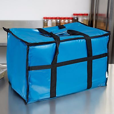 "23"" x 13"" x 15""  Vinyl Insulated Food Delivery Bag / Pan Carrier"