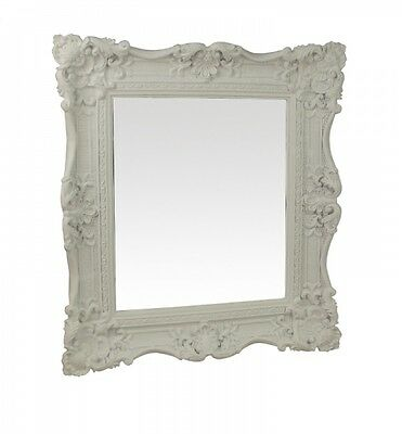 Shabby Chic White Ornate Mirror - Wall hanging mirror - Bathroom - Bedroom