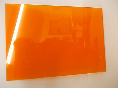 3 mm Amber Translucent Perspex Acrylic sheet  A6 A5 A4 A3 Panel sizes
