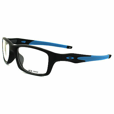 Oakley Glasses Frames Crosslink XL 8030-01 Satin Black Sky Blue