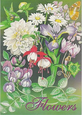 Isle of Man 1998 FLOWERS Stamps SOUVENIR FOLDER REF:F874