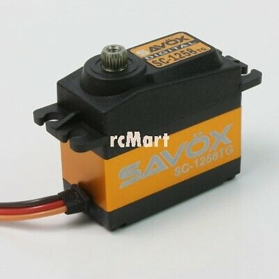 SAVOX Super Speed Titanium Gear Digital Servo 1:10 RC Car On Off Road #SC-1258TG