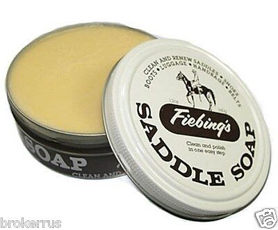 Fiebing's LEATHER SADDLE SOAP White Paste Cleaner Conditioner 12 oz SOAP97T012Z