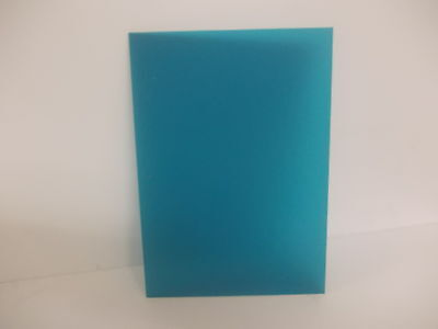 Perspex Blue Acrylic Sheet Frosted  Plastic Material Panel  A5 A4 A3 3mm